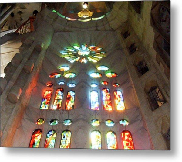 Sagrada Familia Metal Print by Patrick Rabbat