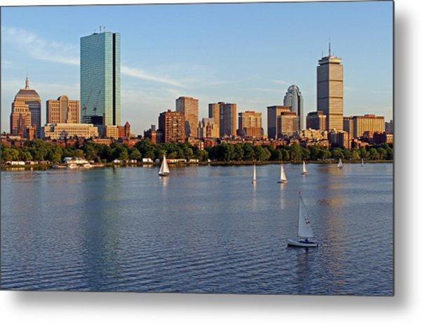 Sail Boston Metal Print