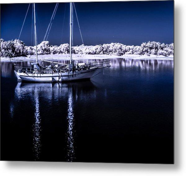 Sailboat 28 Metal Print