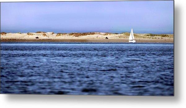 Sailing Blue Metal Print