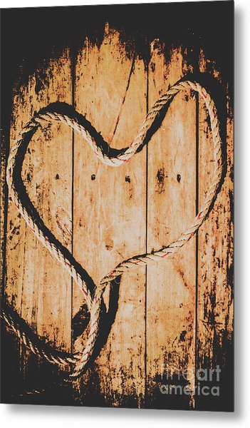 Sailing Love With No Strings Attached Metal Print