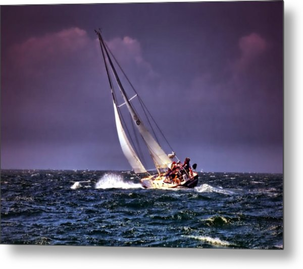 Sailing To Nantucket 001 Metal Print