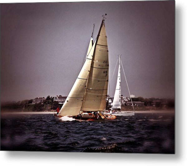 Sailing To Nantucket 005 Metal Print