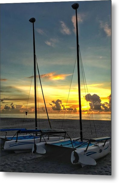 Sailing Vessels  Metal Print