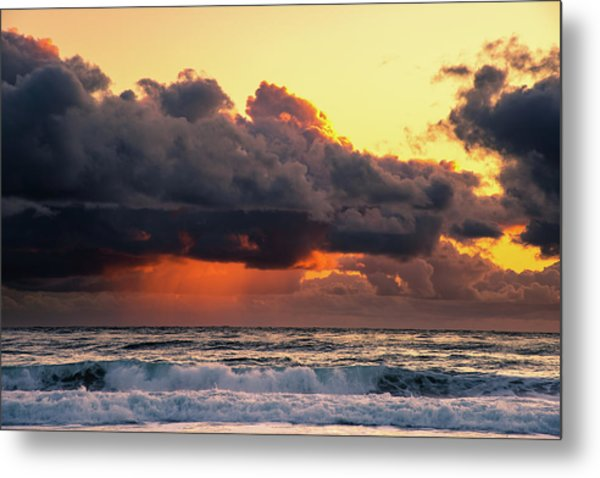 Metal Print featuring the photograph Sailors Delight  by Philip Rodgers