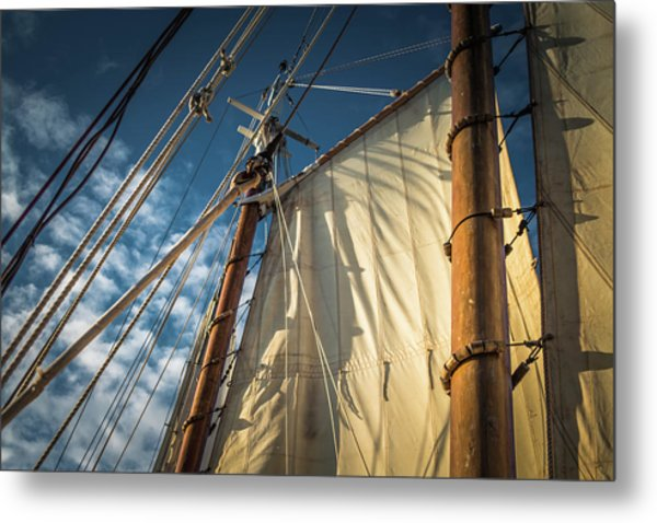 Sails In The Breeze Metal Print