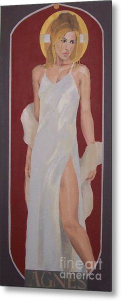 Saint Agnes Metal Print by Stephen Panoushek