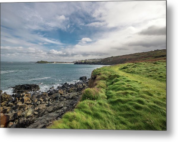 Saint Ives Metal Print