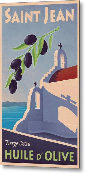 Saint Jean Olive Oil Metal Print