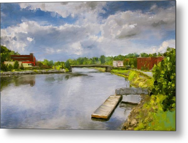 Saint John River Painting Metal Print