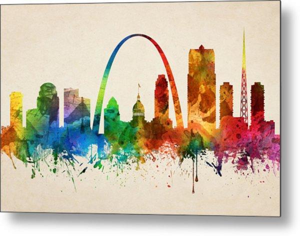Saint Louis Missouri Skyline 05 Metal Print