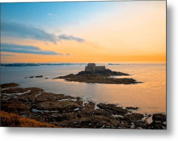 Saint-malo Twilight 2 Metal Print