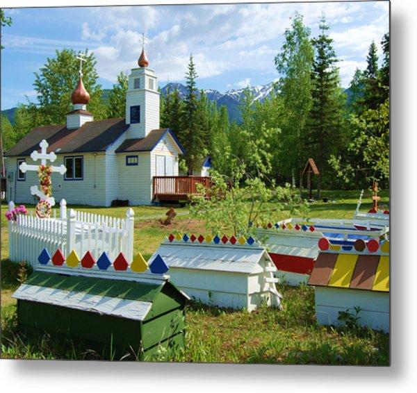 Saint Nicholas Orthodox-eklutna Alaska Metal Print