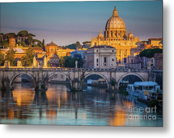 Saint Peters Basilica Metal Print