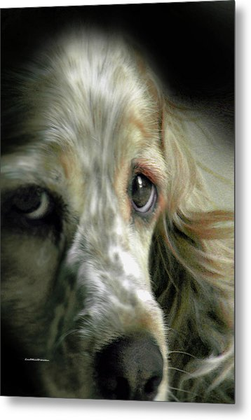 Saint Shaggy Art 9 Metal Print