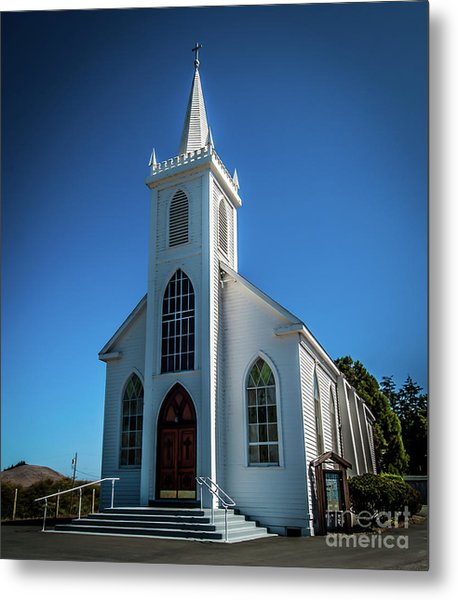 Saint Teresa Of Avila Church - Bodega, Sonoma County Metal Print