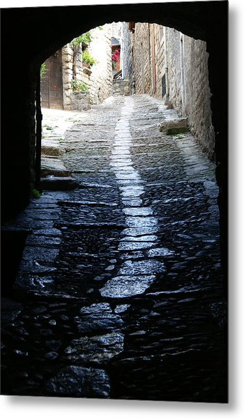 Sainte Enimie In France Metal Print by Jessica Rose
