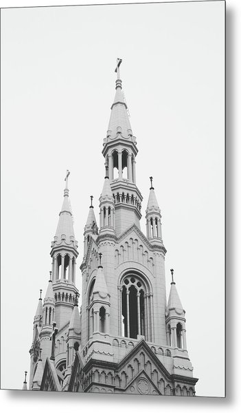 Saints Peter And Paul Church 1- By Linda Woods Metal Print