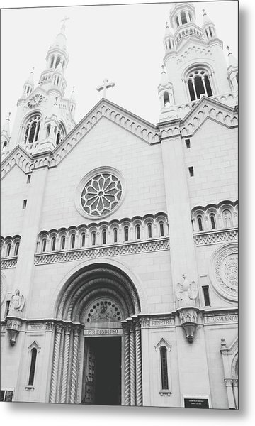 Saints Peter And Paul Church 2-  By Linda Woods Metal Print
