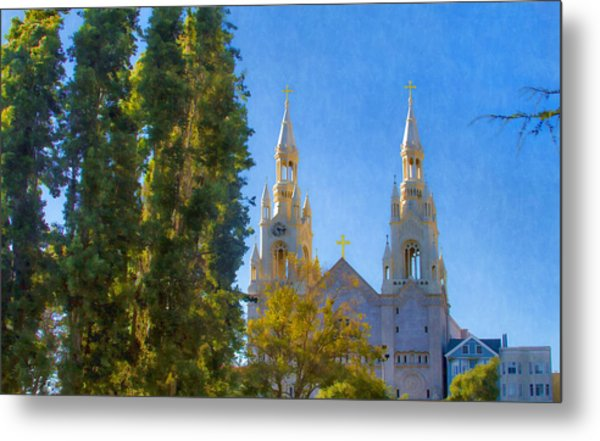 Saints Peter And Paul Church Metal Print