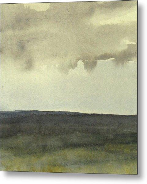 Salen Cloudy Weather. Up Tp 60 X 60 Cm Metal Print