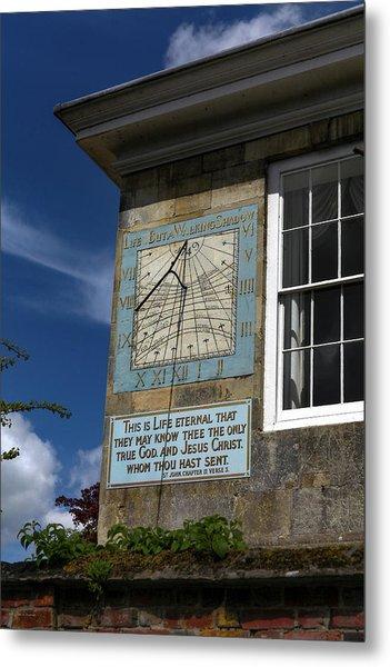 Salisbury Sundial Metal Print