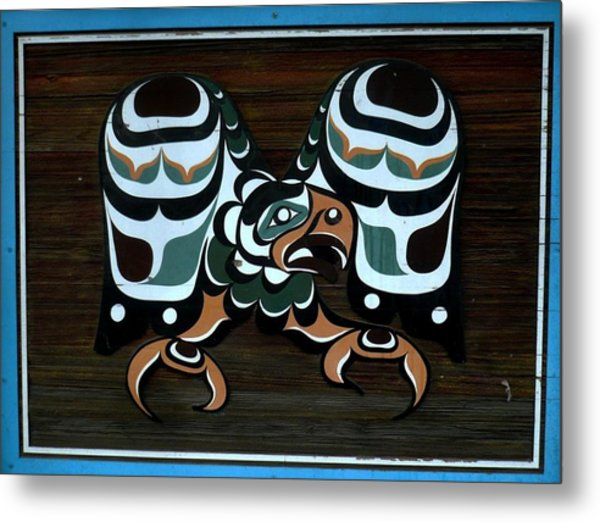Metal Print featuring the photograph Salish Painting by 'REA' Gallery