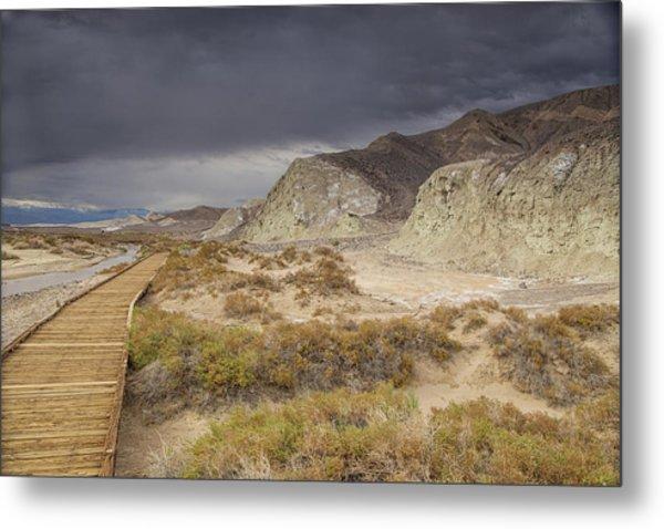 Salt Creek Trail Metal Print