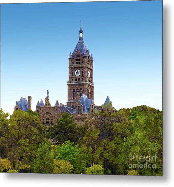 Salt Lake City Hall Metal Print