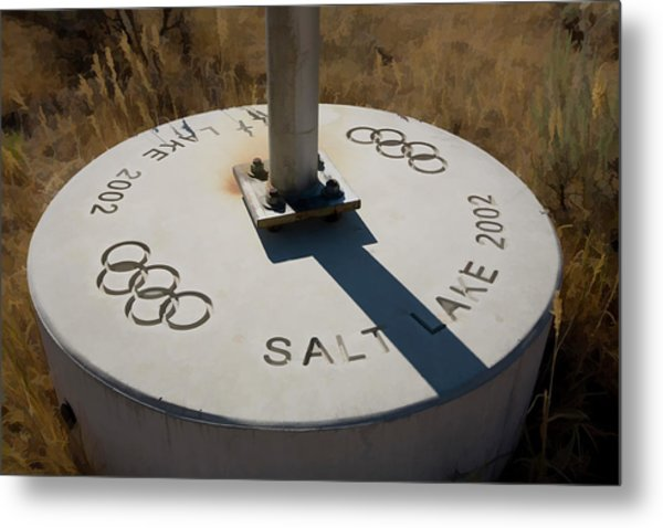 Salt Lake Olympics 2002 Metal Print