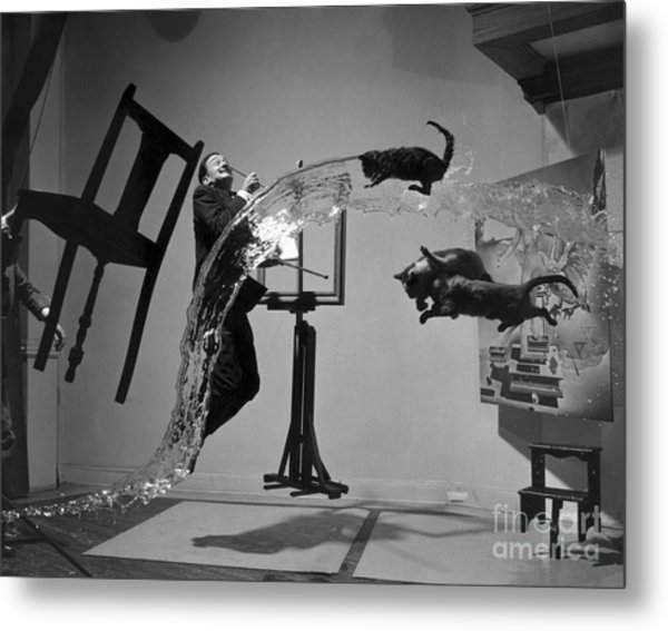 Salvador Dali 1904-1989 - To License For Professional Use Visit Granger.com Metal Print