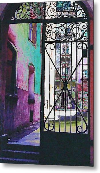 Salzburg Gate Metal Print