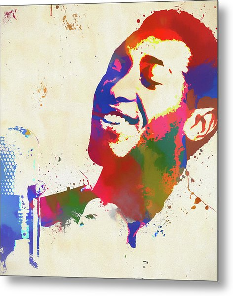 Sam Cooke Metal Print