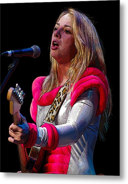 Samantha Fish Metal Print