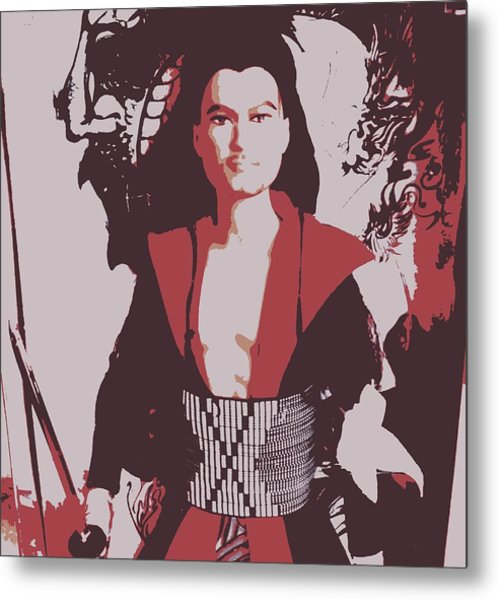 Samarai Ken Metal Print