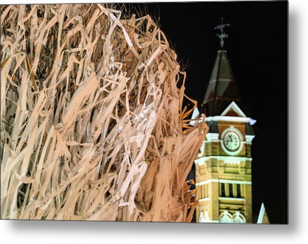 Samford Hall And Rolling Toomer's Metal Print by JC Findley
