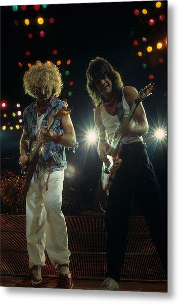 Sammy And Eddie 5150 Metal Print