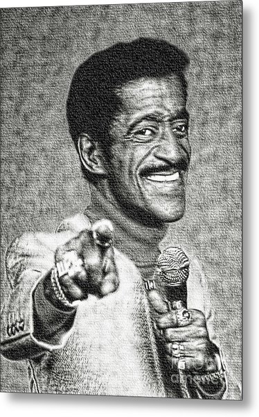 Sammy Davis Jr - Entertainer Metal Print