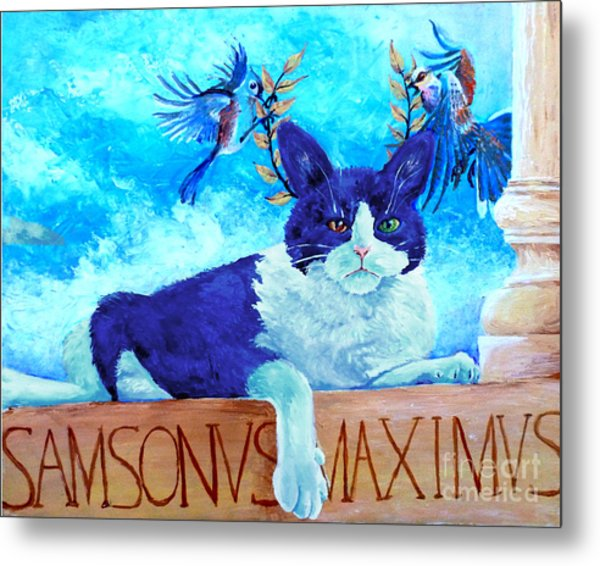 Sammy The Great And The Winged Victories Metal Print