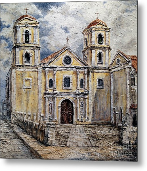 San Agustin Church 1800s Metal Print