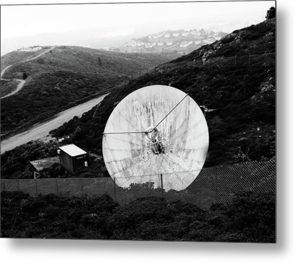 Metal Print featuring the photograph San Bruno Mountain San Francisco by Pacific Northwest Imagery