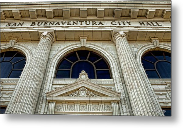 San Buenaventura City Hall Metal Print