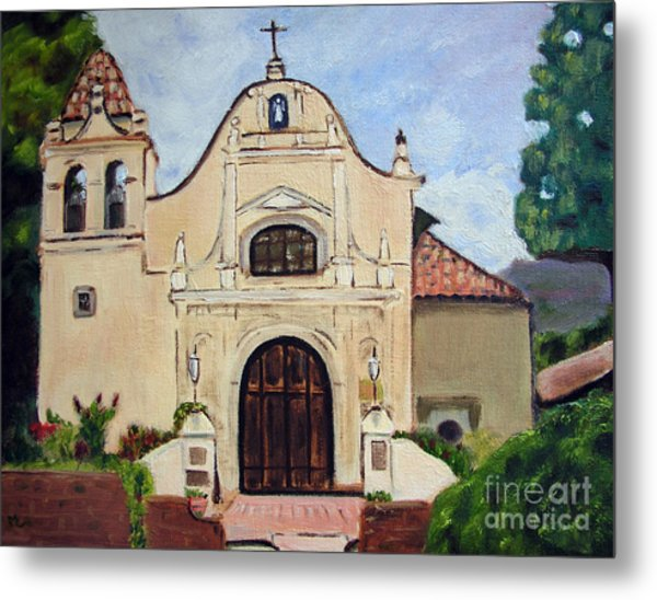 San Carlos Cathedral Metal Print