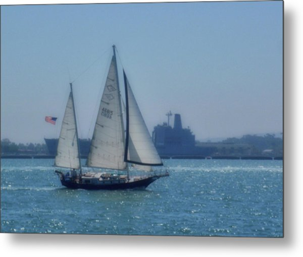 San Diego Bay Metal Print by JAMART Photography