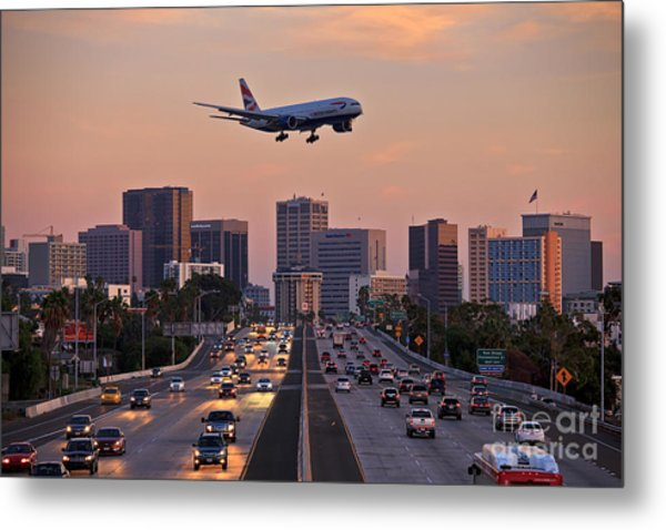 Metal Print featuring the photograph San Diego Rush Hour  by Sam Antonio Photography