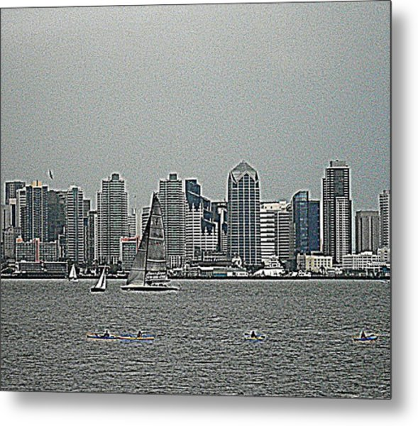 San Diego Waterfront Metal Print