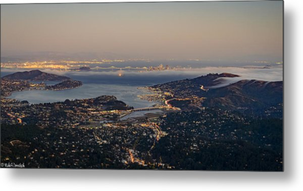 San Francisco Bay Area Metal Print