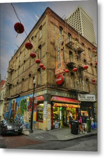 San Francisco - Chinatown 006 Metal Print by Lance Vaughn