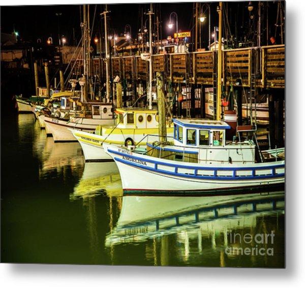 San Francisco Fisherman's Wharf Metal Print