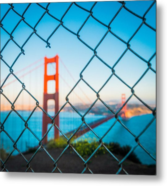 San Francisco Golden Gate Bridge Metal Print